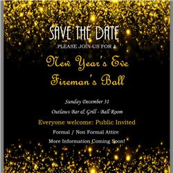 1st Annual Fire Department Appreciation Ball