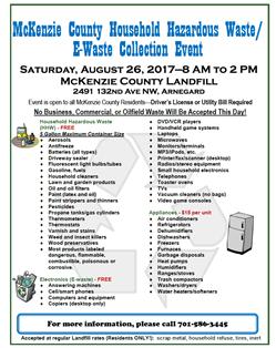 Household Hazardous Waste/E-Waste Collection